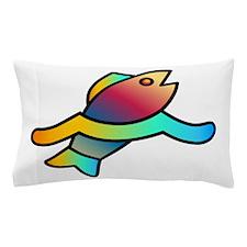 rainbow fish Pillow Case