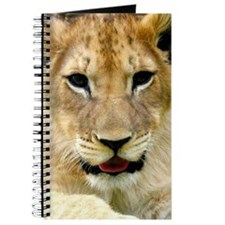 painting of lion cub Journal