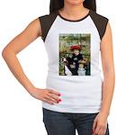 2 Sisters & Bernese Women's Cap Sleeve T-Shirt