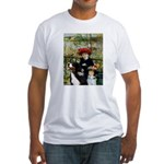 2 Sisters & Bernese Fitted T-Shirt