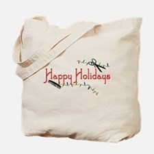 Happy Hairstylist Holidays Tote Bag