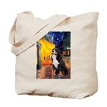 Cafe & Bernese Tote Bag