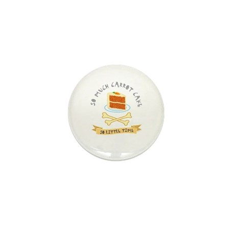 Carrot Cake Lover Mini Button (100 pack)