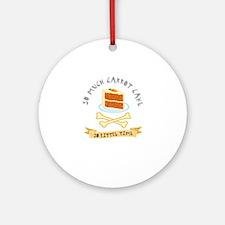 Carrot Cake Lover Ornament (Round)