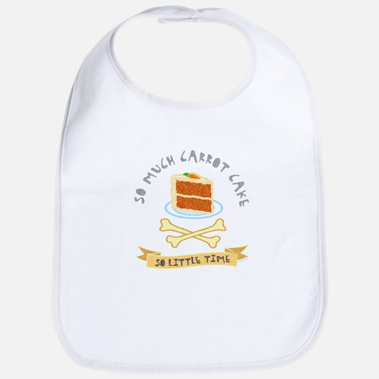 Carrot Cake Lover Bib