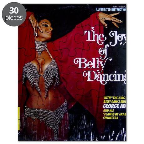 Vintage belly dance album cover Puzzle