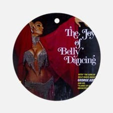Vintage belly dance album cover Round Ornament