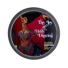 Vintage belly dance album cover Wall Clock