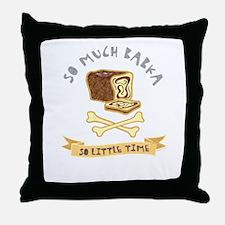 Babka Lover Throw Pillow