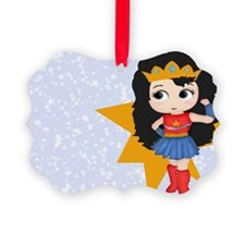 Super Girl Super Hero Ornament