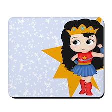 Super Girl Super Hero Mousepad
