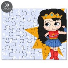 Super Girl Super Hero Puzzle