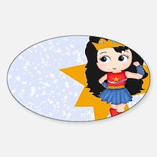 Super Girl Super Hero Decal