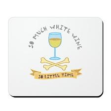 White wine tasting Mousepad