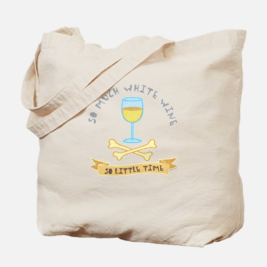 White wine tasting Tote Bag