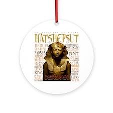 Hatshepsut Tech Round Ornament