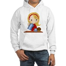 Morning Coffee Girl Hoodie