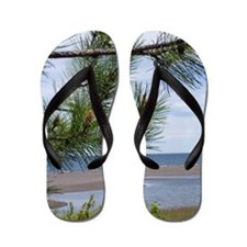 Gray Mining Sands Lake Superior Flip Flops