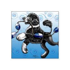 """Portuguese Water Dog Square Sticker 3"""" x 3"""""""