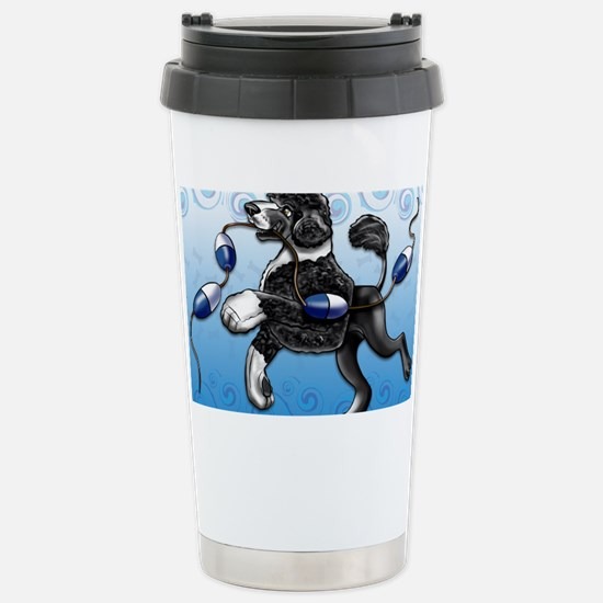 Portuguese Water Dog Stainless Steel Travel Mug