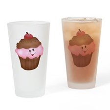 Sweet Cupcake Drinking Glass