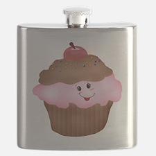 Sweet Cupcake Flask