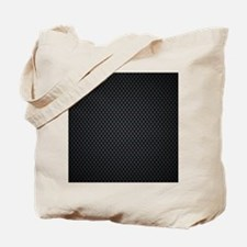 Carbon Mesh Pattern Tote Bag
