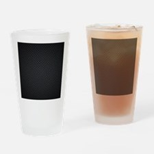 Carbon Mesh Pattern Drinking Glass