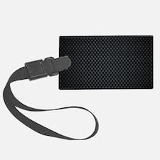 Carbon Mesh Pattern Luggage Tag