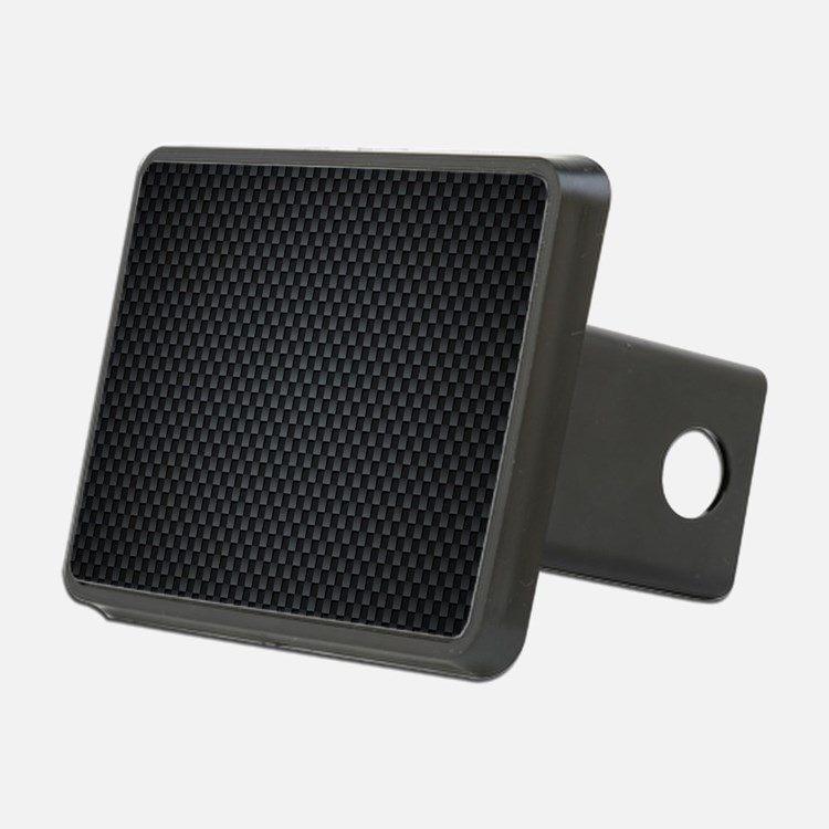 Carbon Mesh Pattern Hitch Cover