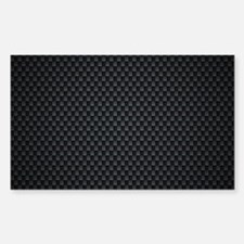 Carbon Mesh Pattern Sticker (Rectangle)