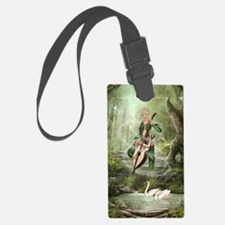 The Elven Forest Luggage Tag
