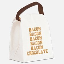 Bacon and Chocolate...Need I say  Canvas Lunch Bag