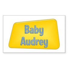 Baby Audrey Rectangle Decal