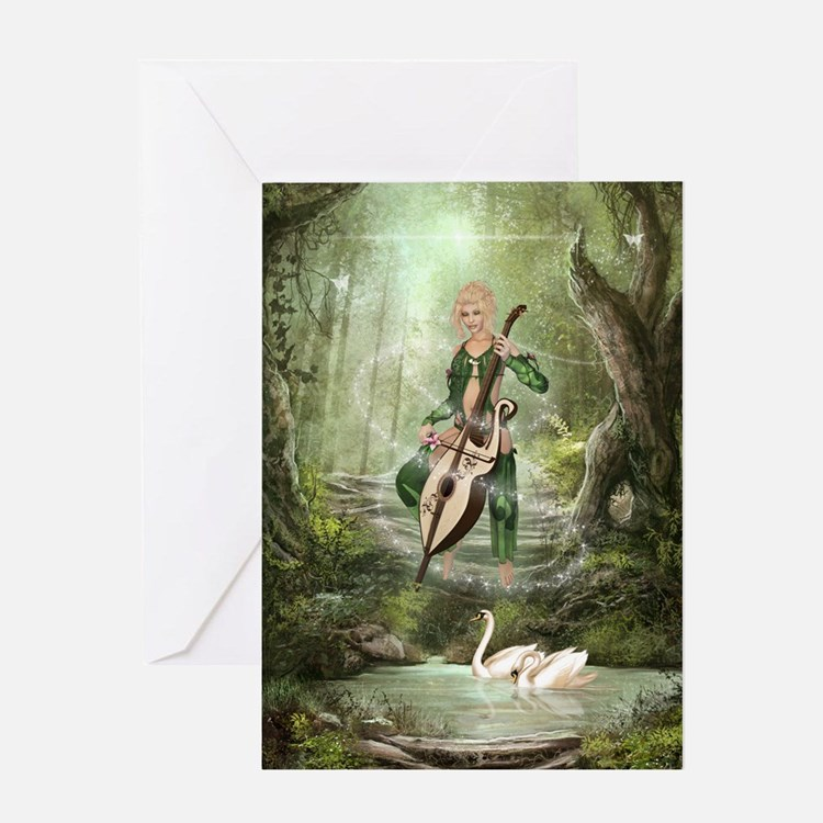 The Elven Forest Greeting Card