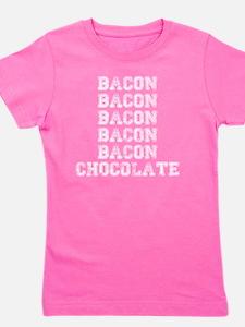 Bacon and Chocolate Girl's Tee