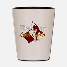 TJ Raider Color Guard Shot Glass