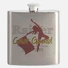 TJ Raider Color Guard Flask