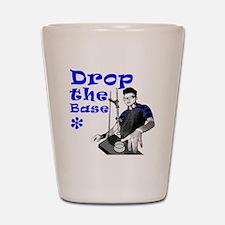 Drop The Base Blue Shot Glass
