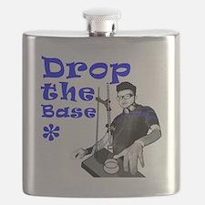 Drop The Base Blue Flask