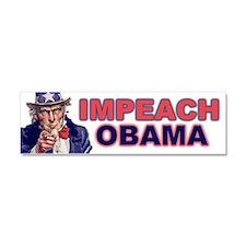 Cute Impeach obama Car Magnet 10 x 3