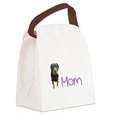 Cute Rotties Canvas Lunch Bag