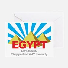 Egypt Peaked Early Greeting Card