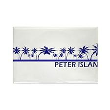 Peter Island, B.V.I. Rectangle Magnet