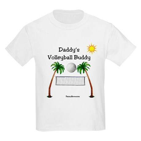 Daddy's Volleyball Buddy Kids Light T-Shirt