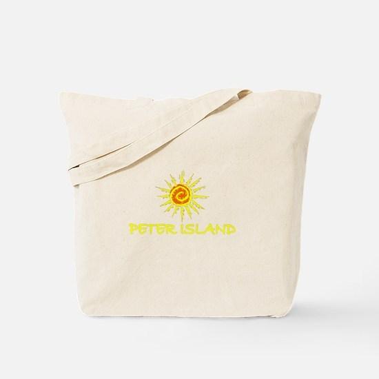 Peter Island, B.V.I. Tote Bag