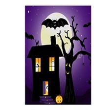 Haunted house Fun Postcards (Package of 8)