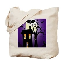 Haunted house Fun Tote Bag