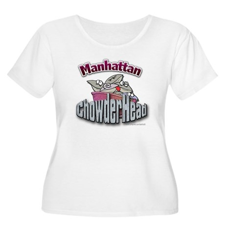 Manhattan ChowderHead... Women's Plus Size Scoop N