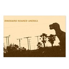 When Dinosaurs Roamed Ame Postcards (Package of 8)